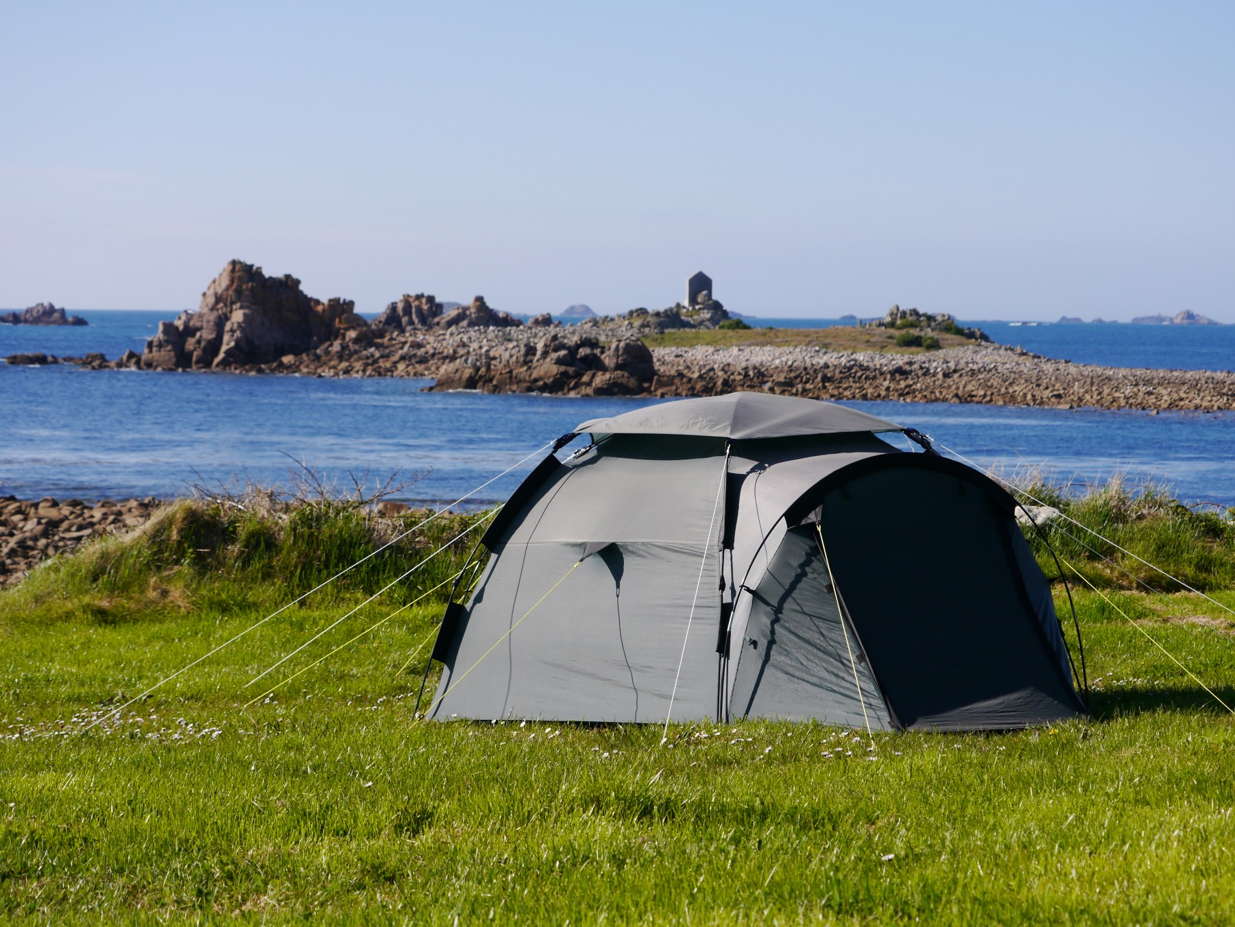 Tent at Troytown Campsite